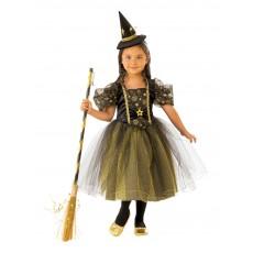 Golden Star Witch Child Costume