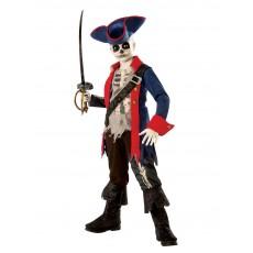 Captain Bones Pirate Child Costume