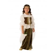 Woodland Girl Fairytale Child Costume