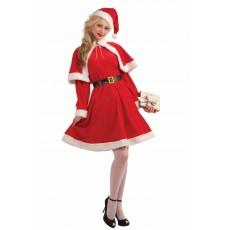 Miss Santa Classic Adult Costume Christmas