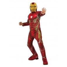 Iron Man Deluxe Infinity War Child Costume