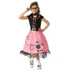 1950's Bopper Girl Child Costume