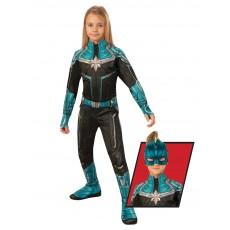 Captain Marvel Classic Kree Child Suit