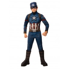 Captain America Deluxe Boy Child Costume