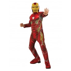 Iron Man Deluxe Red Child Costume