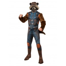Rocket Raccoon Guardians of the Galaxy Deluxe Adult Costume