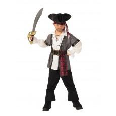 Pirate Grey Boy Child Costume