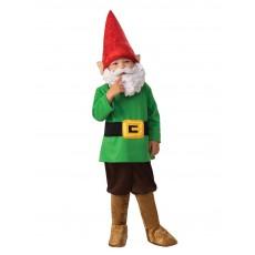 Garden Gnome Fairytale Boy Child Costume
