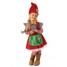 Garden Gnome Fairytale Girl Child Costume