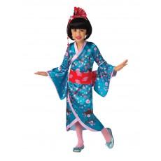 Cherry Blossom Japanese Princess Child Costume
