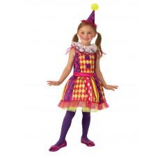 Bright Clown Circus Child Costume
