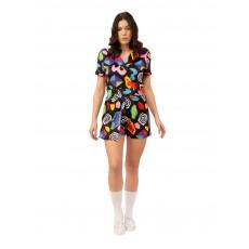 Eleven Mall Dress Costume Stranger Things Adult