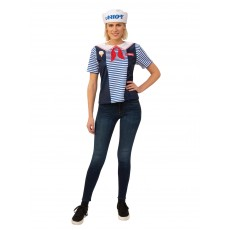 Robin Scoops Ahoy Costume Set - Stranger Things for Adult