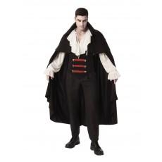 Elegant Vampire Halloween Man Adult Costume