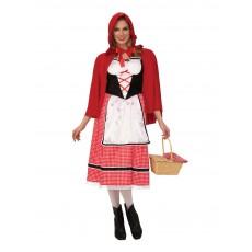 Little Red Riding Hood Fairytale Ladies Adult Costume