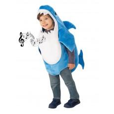Daddy Shark Deluxe Blue Child Costume Baby Shark
