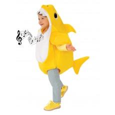 Baby Shark Deluxe Yellow Child Costume