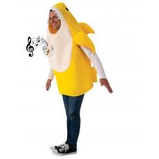 Baby Shark Deluxe Yellow Adult Costume