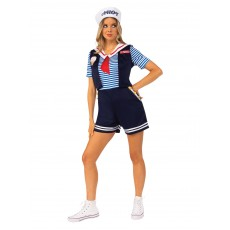 Robin Scoops Ahoy Costume - Stranger Things for Adult