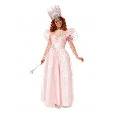 Glinda Wizard of Oz Deluxe Costume With Light Up Adult Crown