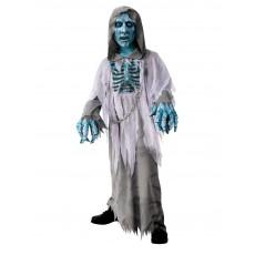 White Demon Hooded Robe Child Costume