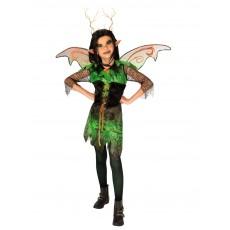 Evil Elf Halloween Girls Child Costume