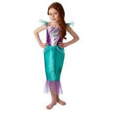 Ariel The Little Mermaid Gem Princess Girl Child Costume