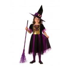 Colour Magic Witch Child Costume