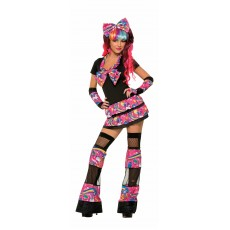 Sweet Trixie Adult Costume 1980s