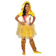 Belle The Beauty & The Beast Hooded Child Dress