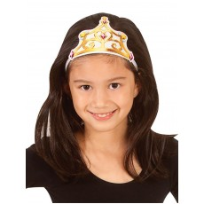 Belle The Beauty & The Beast Fabric Child Tiara - Accessory