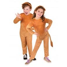 Lion Animals Unisex Child Costume