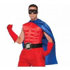 Blue Hero Superheroes & Villains Cape for Adult - Accessory