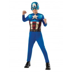 Captain America Classic Boy Child Costume