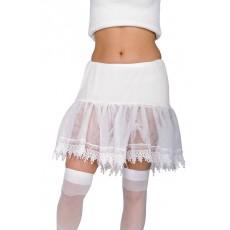 Petticoat Sexy Secret Wishes White Adult