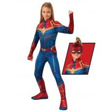 Captain Marvel Classic Hero Child Suit