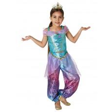 Jasmine Aladdin Rainbow Deluxe Child Costume
