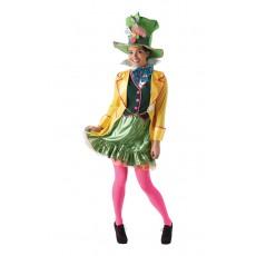 Mad Hatter Alice In Wonderland Ladies Adult Costume