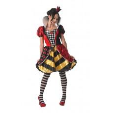 Red Queen Of Hearts Alice In Wonderland Adult Costume