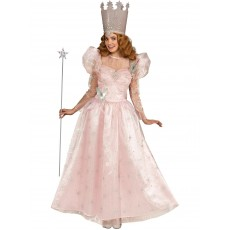 Glinda Wizard of Oz The Good Witch Deluxe Adult Costume