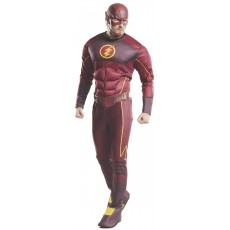 The Flash Deluxe Adult Costume