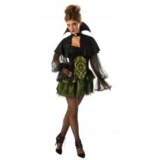 Elegant Vampire Halloweenss Deluxe Adult Costume