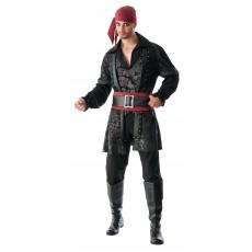 Black Beard Deluxe Adult Costume Pirates