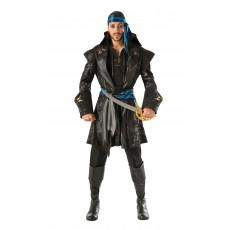 Captain Black Heart Pirate Adult Costume