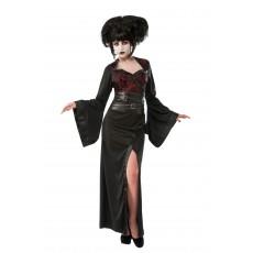 Gothic Geisha Japanese Adult Costume