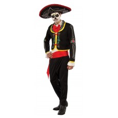 Day Of The Dead Halloween Senor Adult Costume
