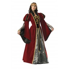Queen Medieval & Knights Anne Collector's Edition Adult Costume