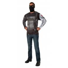 Winter Soldier Captain America Costume Adult Top