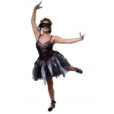 Dead Ballerina Halloween 'Toy Gory' Adult Costume