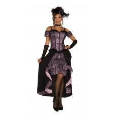 Dance Hall Mistress Adult Costume Western